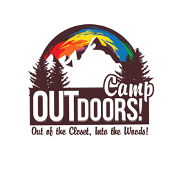 OUTdoors Gay Camp Sticky Logo Retina